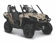 Oem Genuine Factory New Can-am Commander 800 1000 Front Center Fender Hood Camo