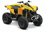 Oem Genuine Factory New Can-am Renegade 500 800 1000 Front Fender Yellow