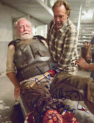 The Walking Dead Authentic Zombie Signed/sketch By Greg Nicotero Proof