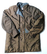 Darby Green London Fog Womenand039s Gold Brown Warm Puffy Coat Jacket Sz S