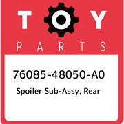 76085-48050-a0 Toyota Spoiler Sub-assy Rear 7608548050a0 New Genuine Oem Part