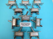 10 Ea. On/off Toggle Switch Vintage Wwii Aircraft Cutler Hammer B5a An3022-2