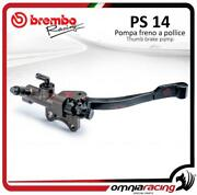 Brembo Racing Pollice X985780 / Thumb Rear Brake Master Cylinder Ps 14 / Left