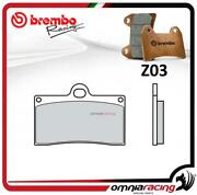 Brembo Racing Z03 Front Brake Pad Sintered Compound For Yamaha Yzf R1 20022006