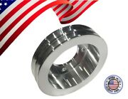 Small Block Ford 289 302 351w 351c Crank Pulley 2v Groove 4 Bolt Dampener Sbf