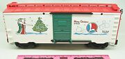 Lionel Large Scale 87015 1996 Merry Christmas Boxcar