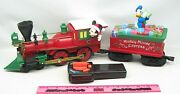 Lionel Disney Mickey Mouse General-style Locomotive And Tender Ready-to-play