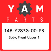 14b-y283g-00-p3 Yamaha Body Front Upper 1 14by283g00p3 New Genuine Oem Part