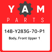 14b-y283g-70-p1 Yamaha Body, Front Upper 1 14by283g70p1, New Genuine Oem Part
