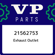 21562753 Volvo Penta Exhaust Outlet 21562753, New Genuine Oem Part