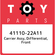 41110-22a11 Toyota Carrier Assy Differential Front 4111022a11 New Genuine Oem