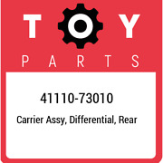 41110-73010 Toyota Carrier Assy, Differential, Rear 4111073010, New Genuine Oem