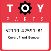 52119-42591-b1 Toyota Cover Front Bumper 5211942591b1 New Genuine Oem Part