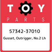 57342-37010 Toyota Gusset Outrigger No.2 Lh 5734237010 New Genuine Oem Part