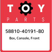 58810-40191-b0 Toyota Box Console Front 5881040191b0 New Genuine Oem Part