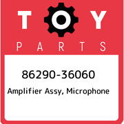 86290-36060 Toyota Amplifier Assy Microphone 8629036060 New Genuine Oem Part