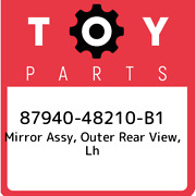 87940-48210-b1 Toyota Mirror Assy Outer Rear View Lh 8794048210b1 New Genuine