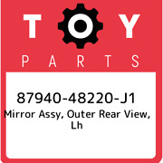 87940-48220-j1 Toyota Mirror Assy Outer Rear View Lh 8794048220j1 New Genuine
