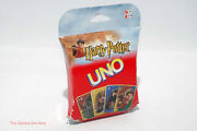 Harry Potter Uno Card Game - Mattel 2002 With Worn Box And New Cards