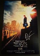 Colin Farrell+1 Hand-signed Fantastic Beasts And Where To Find Them11x17 Photo