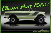 Stripe Graphics Decal - Fits Rallye 1971 - 1980 International Scout Traveller