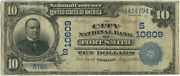 1902 10 Plain Back The City National Bank Of Fort Smith Ar Ch S10609 Fr 631