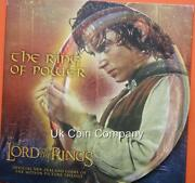2003 Lord Of The Rings New Zealand Brilliant Uncirculated 1 One Dollar Coin