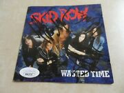Skid Row Cd Signed/autographed By Sebastain Bach + 3...jsa Certified