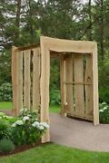 Aandl Furniture Blue Mountain Appalachian Arbors - In 2 Sizes And 4 Finishes