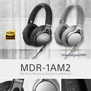 Sony Mdr-1am2 High-resolution Stereo Headphone 4.4mm Balanced - Color Black-