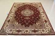 Gorgeous 5x7 Tabreez Handmade Super Quality Fine Rug Wool And Silk Great Deal