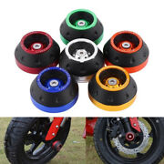 Front Rear Fork Wheel Protector Frame Slider Crash Pads Scooter Moped Accessorys