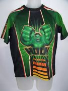 Incredible Hulk Jersey 2002 Marvel Comics Avengers Athletic Tee T-shirt Youth L