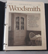 Woodsmith Magazine, Lot Of 10 Issuesvol , 61 To 70 Notes From The Shop