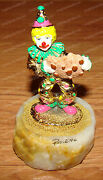 Ron Lee World Of Clowns, Gingerbread Man Ccs145 87 Of 1,500 Signed 1996