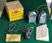 Nos 1950 50 Oldsmobile 98 W/hydromatic Trans Back Up Lamp Kit Accessory 984435