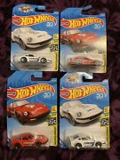 Hot Wheels Nissan Fairlady Z 2 Red And 2 White Lot Of 4 New 2019