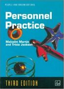 Personnel Practice People And Organizations By Malcolm Martin, Tricia Jackson