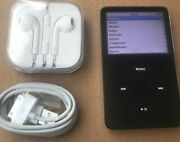 Newother Apple Ipod Classic Video 5th Gen Black 60gb A1136 Same Day Dispatch