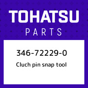 346-72229-0 Tohatsu Cluch Pin Snap Tool 346722290 New Genuine Oem Part