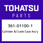 361-01100-1 Tohatsu Cylinder And Crank Case Assand039y 361011001 New Genuine Oem