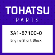 3a1-87100-0 Tohatsu Engine Short Block 3a1871000 New Genuine Oem Part