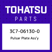 3c7-06130-0 Tohatsu Pulsar Plate Assand039y 3c7061300 New Genuine Oem Part