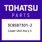 3c8s87301-2 Tohatsu Lower Unit Assand039y S 3c8s873012 New Genuine Oem Part