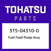 3t5-04310-0 Tohatsu Fuel Feed Pump Assy 3t5043100, New Genuine Oem Part