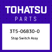 3t5-06830-0 Tohatsu Stop Switch Assy 3t5068300 New Genuine Oem Part
