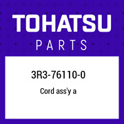 3r3-76110-0 Tohatsu Cord Assand039y A 3r3761100 New Genuine Oem Part