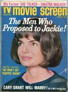 Tv And Movie Screen Magazine March 1965- Jackie Kennedy- Sean Connery