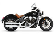 Rinehart Racing Slip-on Exhaust For Indian Motorcycle Scout Models