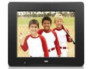 Aluratek 8 Inch Digital Photo Frame With Motion Sensor And 4gb Built-in Memory -
